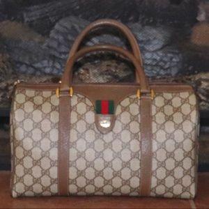 Gucci Sherry Line Boston Bag